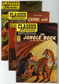 """Golden Age (1938-1955):Classics Illustrated, Classics Illustrated #83 and 89-91 First Editions Group Davis Crippen (""""D"""" Copy) pedigree (Gilberton, 1951-52) Condition: VF.... (Total: 4)"""