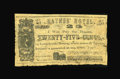 Obsoletes By State:Arkansas, Little Rock, AR- Haynes' Hotel 25¢ March 13, 1863 Rothert 416-1. An extremely rare piece of Arkansas scrip which is listed a...