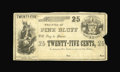 Obsoletes By State:Arkansas, Pine Bluff, AR- City of Pine Bluff 25¢ Rothert 556-2. A very scarce piece of Pine Bluff municipal scrip which is the only ex...