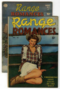 Golden Age (1938-1955):Romance, Range Romances #3 and 5 Group (Quality, 1950).... (Total: 2)