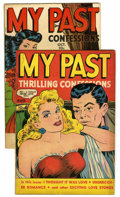 "Golden Age (1938-1955):Romance, My Past #7 and 8 Group - Davis Crippen (""D"" Copy) pedigree (FoxFeatures Syndicate, 1949).... (Total: 2)"