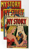 Golden Age (1938-1955):Romance, My Story #6-9 and 12 Group (Fox Features Syndicate, 1949-50)....(Total: 5)