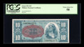 Military Payment Certificates:Series 591, Series 591 $10 PCGS Choice About New 58....