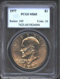 Eisenhower Dollars: , 1977 $1 MS65 PCGS. Mintage: 12,596,000. The latest Coin World ...