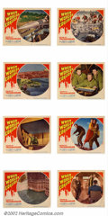 "Movie Posters:Science Fiction, When Worlds Collide (Paramount 1951) Lobby Card Set (11"" X 14"") This is the entire set from this science fiction classic abo..."