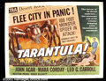 "Movie Posters:Science Fiction, Tarantula! (Universal, 1955).Half Sheet (22""X28"") With the success of ""Them,"" other giant creature films emerged, Tarantula ..."
