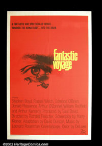 """Fantastic Voyage (20th Century Fox 1966) One Sheet (27"""" X 41""""). Raquel Welch and a crew of scientists shrink d..."""