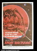 "Movie Posters:Science Fiction, The Angry Red Planet (American International, 1960). One Sheet (27""X41"") This wonderful sci-fi poster features a Martian cre..."