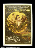 """Movie Posters:Action, Son of Tarzan - Episode Three """"Girl of the Jungle""""(National Film 1921) One Sheet (27""""X41"""") Pretty, one of a kind chapter she..."""