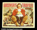 "Movie Posters:Animated, Gulliver's Travels (Paramount 1939) Half Sheet (22"" X 28"").Animators Max and Dave Fleischer were encouraged by Paramount to..."