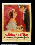 Movie Posters:Drama, Camille (MGM, 1937) French Affiche. The Swedish Sphinx, Greta Garbo, gave her greatest performance in this classic from MGM...