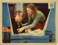 """Movie Posters:Drama, Anna Christie (MGM, 1930). Lobby card (11""""x14""""). MGM's ad campaign screamed the headline, """"Garbo Talks!"""" Many of the silen..."""