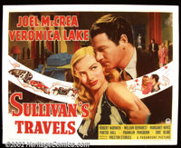 "Sullivan's Travels (Paramount 1941) Half Sheet (22""X28"") Considered by many to be writer-director Preston Stur..."