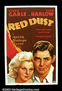 Red Dust (MGM, 1932) This pre-code love story was a racy hit for MGM and helped elevate Jean Harlow to star status as th...