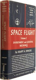 Books:Signed Editions, Krafft A. Ehricke. Space Flight, Volume I: environment and Celestial Mechanics Signed by Buzz Aldrin. New York: ...