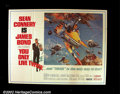 Movie Posters:Action, You Only Live Twice (United Artists 1967) Subway Style B. Sean Connery, as James Bond, returns to take on the forces of SPE...