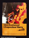 "Bronze Age (1970-1979):Miscellaneous, Dirty Harry (Warner Brothers 1971) French Affiche. Clint Eastwoodstars in this, the first film of the long-running ""Dirty ..."