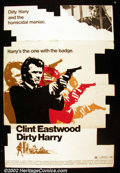 Bronze Age (1970-1979):Miscellaneous, Dirty Harry (Warner Brothers, 1971). Standee. The series that madeClint Eastwood one of the biggest stars in the world sta...