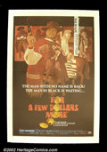 "Movie Posters:Western, For a Few Dollars More (United Artists 1967) One Sheet (27""X41"").Sergio Leone and Clint Eastwood rode a wave of pop-culture..."