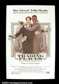 "Movie Posters:Comedy, Trading Places (Paramount 1982) One Sheet (27"" X 41""). ""SaturdayNight Live"" alumni Dan Aykroyd and Eddie Murphy teamed up f..."