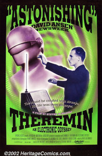"""Theremin (Orion 1993) One Sheet (27"""" X 41"""") A documentary about Russian musician Leon Theremin, the inventor o..."""