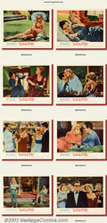 """Movie Posters:Drama, Lolita (MGM 1962) Lobby Card Set (11"""" X 14"""") Vladimir Nabokov's novel is brought to the screen with outstanding performances..."""