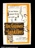 "Movie Posters:Comedy, The Ladykillers, (Ealing, 1955). One Sheet (27""X41"") Alec Guinessand the little British studio, Ealing, produced some of th..."