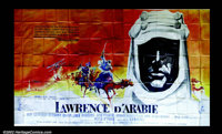 Lawrence of Arabia (1962) French Ten Panel. A magnificently large French poster - the largest poster of Lawrence ever to...