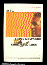 """Cool Hand Luke (Warner Brothers 1967) One Sheet (27""""X41"""") Paul Newman, following in the footsteps of Marlon Br..."""