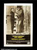 "Movie Posters:Drama, Midnight Cowboy (United Artists, 1969) One Sheet (27"" X 41""). Jon Voight and Dustin Hoffman turned in stunning performances ..."