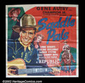 "Movie Posters:Western, Saddle Pals (Republic 1947) Six Sheet (81"" X 81"") Gene Autry andChampion were at it again and this time his sidekick is Ste..."