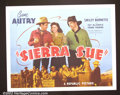 "Movie Posters:Western, Sierra Sue (Republic, 1941). Half Sheet (22""X28"") Near Mint. ..."