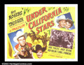 "Movie Posters:Western, Under California Stars (Republic, 1948). Half Sheet (22""X28"") RoyRogers. Very Fine...."