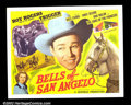 "Movie Posters:Western, The Bells of San Angelo (Republic, 1947). Half Sheet (22""X28"") VeryFine + . Roy Rogers ..."