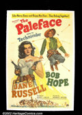 "Movie Posters:Comedy, The Paleface (Paramount 1948) One Sheet (27"" X 41""). Bumbling BobHope and the sexy sharpshooter Jane Russell star in this w..."