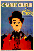 "Movie Posters:Comedy, The Circus (United Artists 1928) One Sheet (27"" X 41"") Terrific onesheet poster for one of the most under-rated Chaplin fi..."