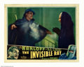 "Movie Posters:Horror, The Invisible Ray (Universal, 1936). Lobby Card (11"" X 14""). King of the Monsters Boris Karloff stars in this sci-fi chiller..."
