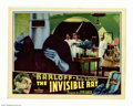 """Movie Posters:Horror, The Invisible Ray (Universal 1936) Lobby Card (11"""" X 14""""). Bela Lugosi stars as the scientist who uses the Radium X ray for..."""