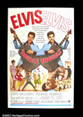 """Movie Posters:Musical, Double Trouble (MGM 1967) One Sheet (27""""X41""""). Elvis Presley stars in this rock n roll musical. Very Good+. ..."""