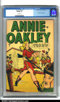 Golden Age (1938-1955):Western, Annie Oakley #1 (Timely, 1948). A very scarce early Timely western, this book also has a bit of a good girl edge to it. Es...