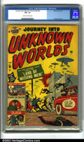 Golden Age (1938-1955):Horror, Journey into Unknown Worlds #38 (#3) (Atlas, 1951). This is ahard-to-find early issue of a trend-setting science fiction ti...