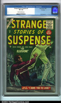Golden Age (1938-1955):Horror, Strange Stories of Suspense #6 File copy (Atlas, 1955). A beautifulcopy of a post-code Atlas, featuring Bill Everett art. O...