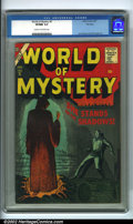 Silver Age (1956-1969):Horror, World of Mystery #5 (Allied Artists, 1957). This issue features JoeOrlando and Dick Ayers art. Atlas comics are notoriously...