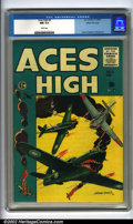 Golden Age (1938-1955):War, Aces High #5 Gaines File pedigree 12/12 (EC, 1955). From thepersonal vault of Bill Gaines comes this near-pristine beauty, ...