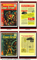 Golden Age (1938-1955):Science Fiction, EC Comics Lot (EC, 1954-56) This lot consists of Incredible ScienceFiction #30 and #33 and Two-Fisted Tales #37. Th... (Total: 3 Item)