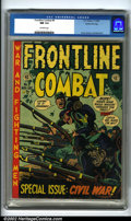 Golden Age (1938-1955):War, Frontline Combat #9 Gaines File pedigree 6/10 (EC, 1952). A nearperfect copy from the publisher's personal files. This is t...