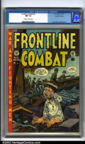 Golden Age (1938-1955):War, Frontline Combat #10 Gaines File pedigree 6/9 (EC, 1953). One of the many factors that sets EC comics apart from their conte...