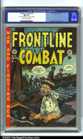 Golden Age (1938-1955):War, Frontline Combat #10 (EC, 1953). Featuring art by Jack Davis, George Evans and Wally Wood, this copy is in immaculate condit...