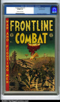 Golden Age (1938-1955):War, Frontline Combat #13 Gaines File pedigree 9/12 (EC, 1953). In terms of sheer eye-appeal, this is a killer book. The color an...