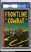 Golden Age (1938-1955):War, Frontline Combat #14 Gaines File pedigree 8/11 (EC, 1953). Greateye-appeal on this book from Bill Gaines' personal collecti...